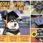 Decorate your grad cap with LSJ