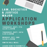 LSJ Major Application Workshops