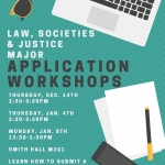 LSJ Major Application Workshop flyer