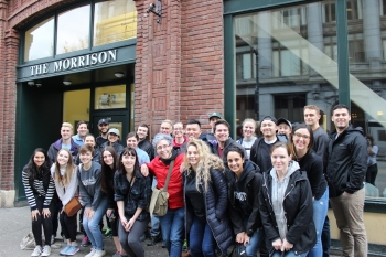 LSJ Students, Alumni, Staff, and Faculty at the 2017 LSJ Day of Service at the Downtown Emergency Service Center