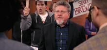 Professor Michael McCann on an episode of Adam Ruins Everything