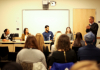 Alums speak at Career Night Panel