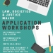 LSJ Major Application Workshops Information