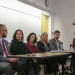 """LSJ Director Steve Herbert engages in discussion with a panel of attorneys, public defenders, and documentary filmmakers about the Netflix series """"Making a Murderer"""". The group had a conversation about the criminal process in the United States."""