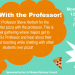 Spring quarter Pizza with the Professor is with Professor Herbert!
