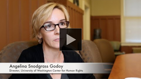 YouTube link to UW CHR Director Angelina Godoy: Access to Information as a Human Right