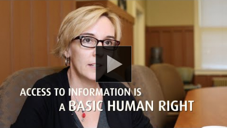 YouTube link to Access to Information as a Human Right: UWCHR v. CIA